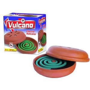 Spirale Antizanzara Vulcano Diffusore Coccio